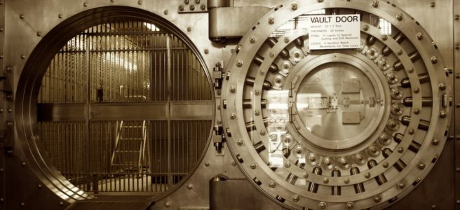 Coffre-fort de banque
